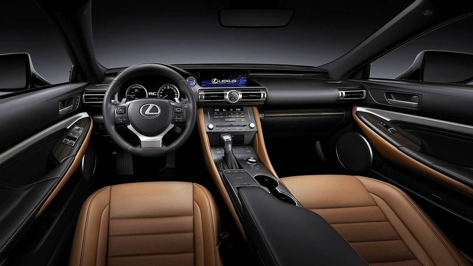 Обновленный Lexus RC: встиле старшего «брата»— фото 900891