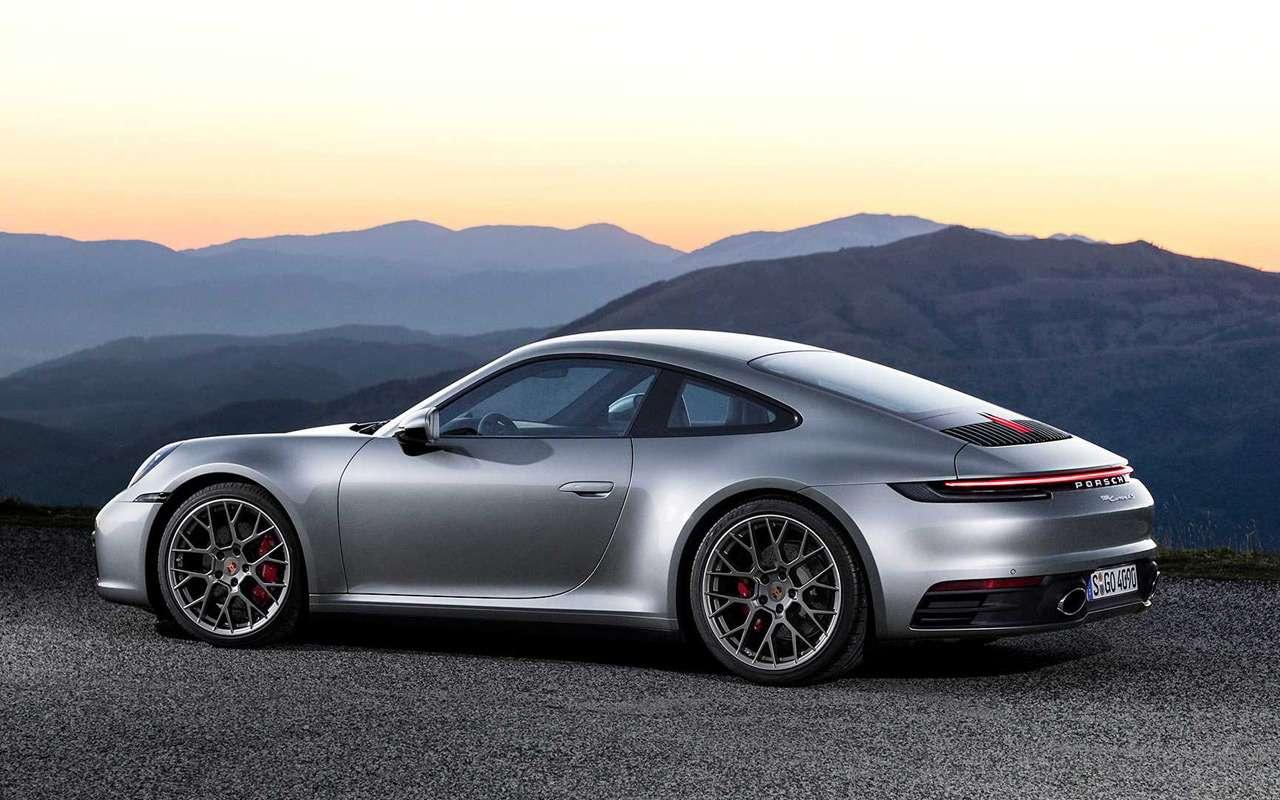 Новый Porsche 911: классический облик исовременная начинка— фото 926954