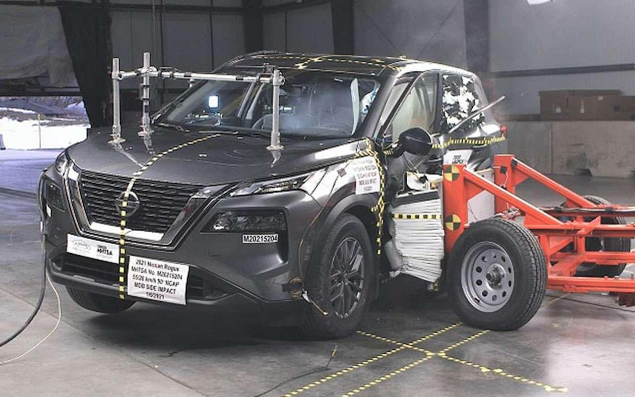 Новый Nissan X-Trail накраш-тесте: пассажиру плохо!— фото 1225220