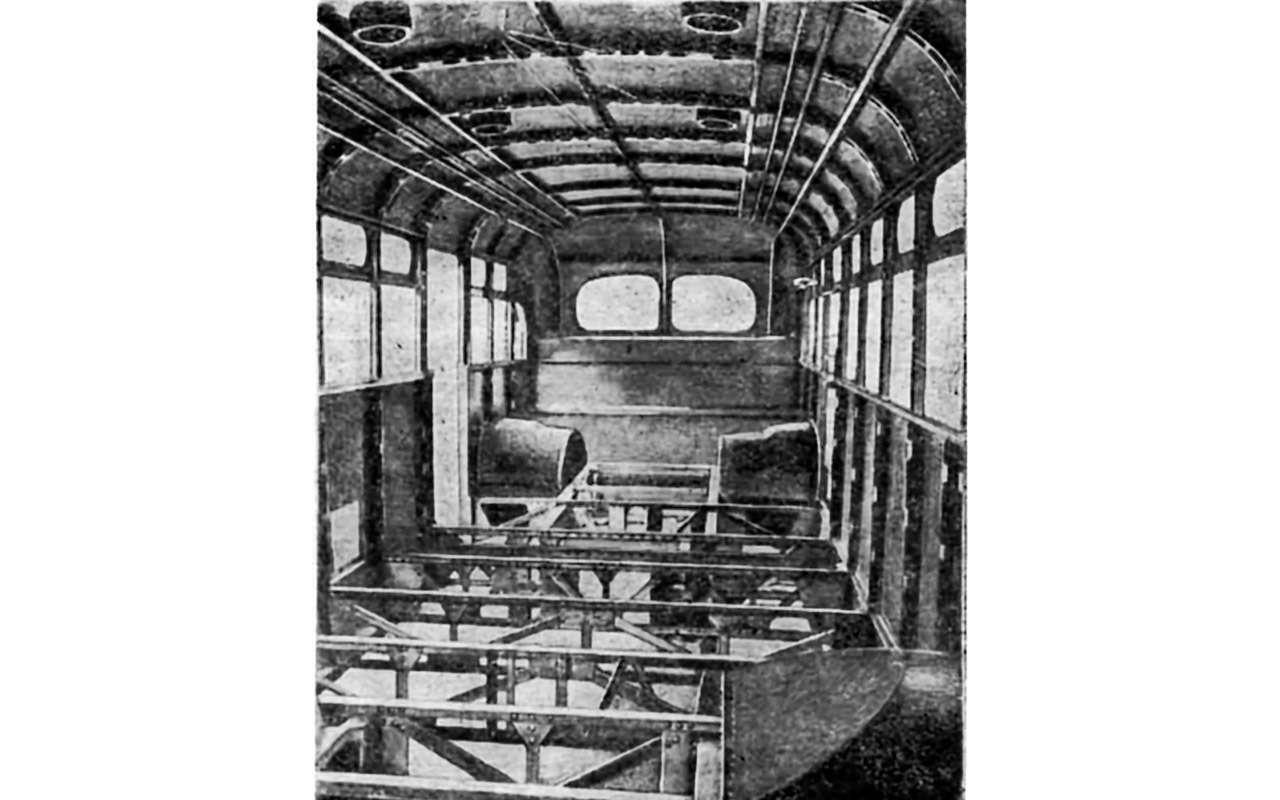 Советский гибридный автобус: заглянули вего родословную— фото 1232027