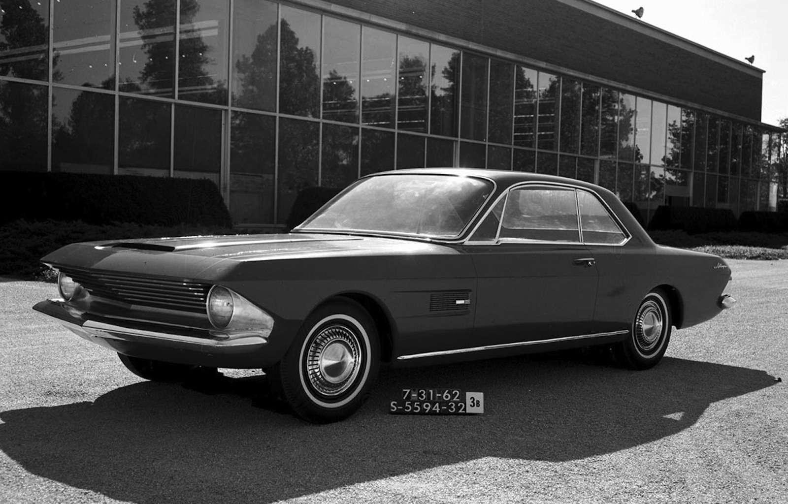 1962 Allegro design study