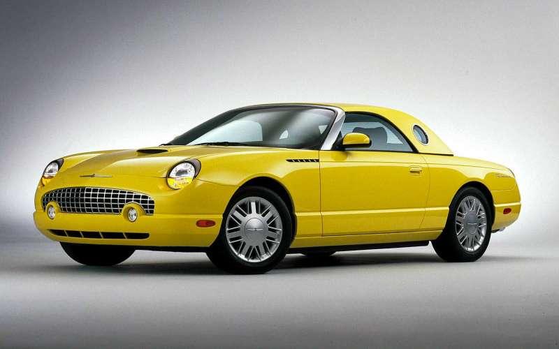 Ford Thunderbird, 2000-2005