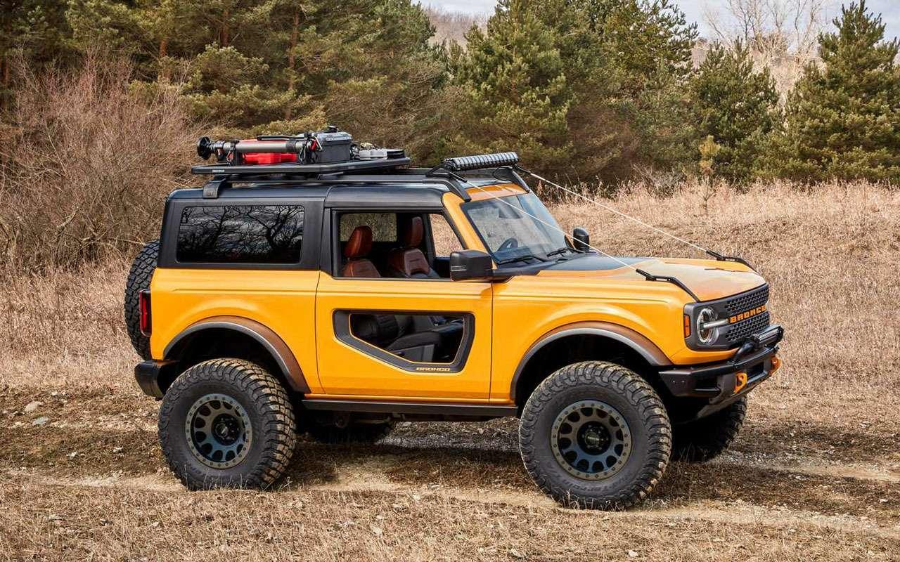 Ford Bronco вернулся— характеристики, фотографии, цены, видео— фото 1144834