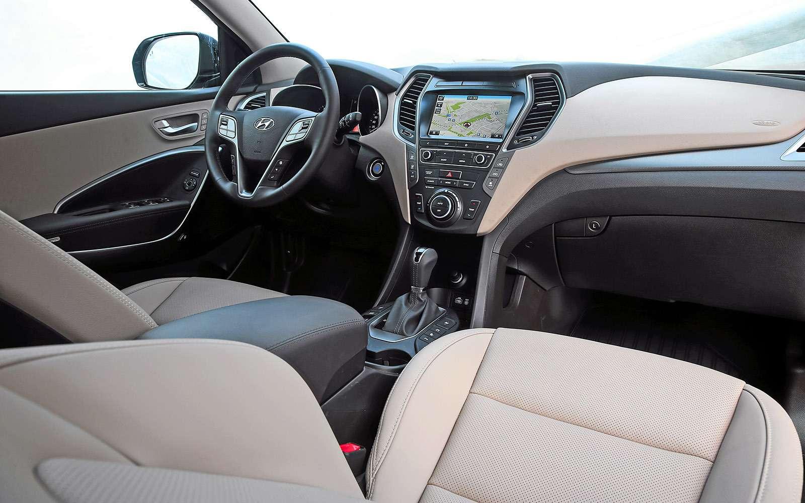 Новый Nissan Murano против конкурентов: длинные рубли— фото 691693