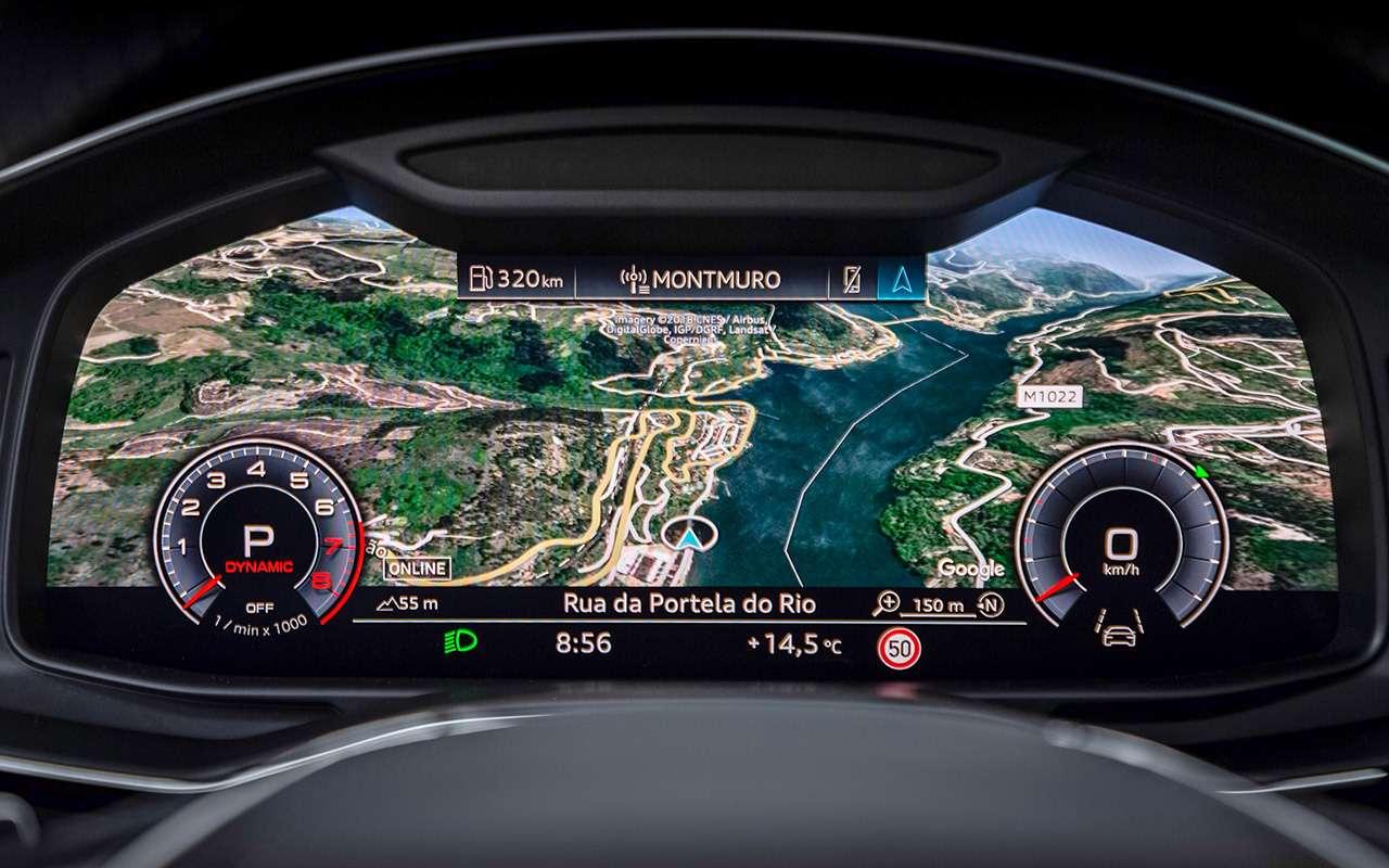 Новый Audi А6: автопилот третьего уровня— фото 880417