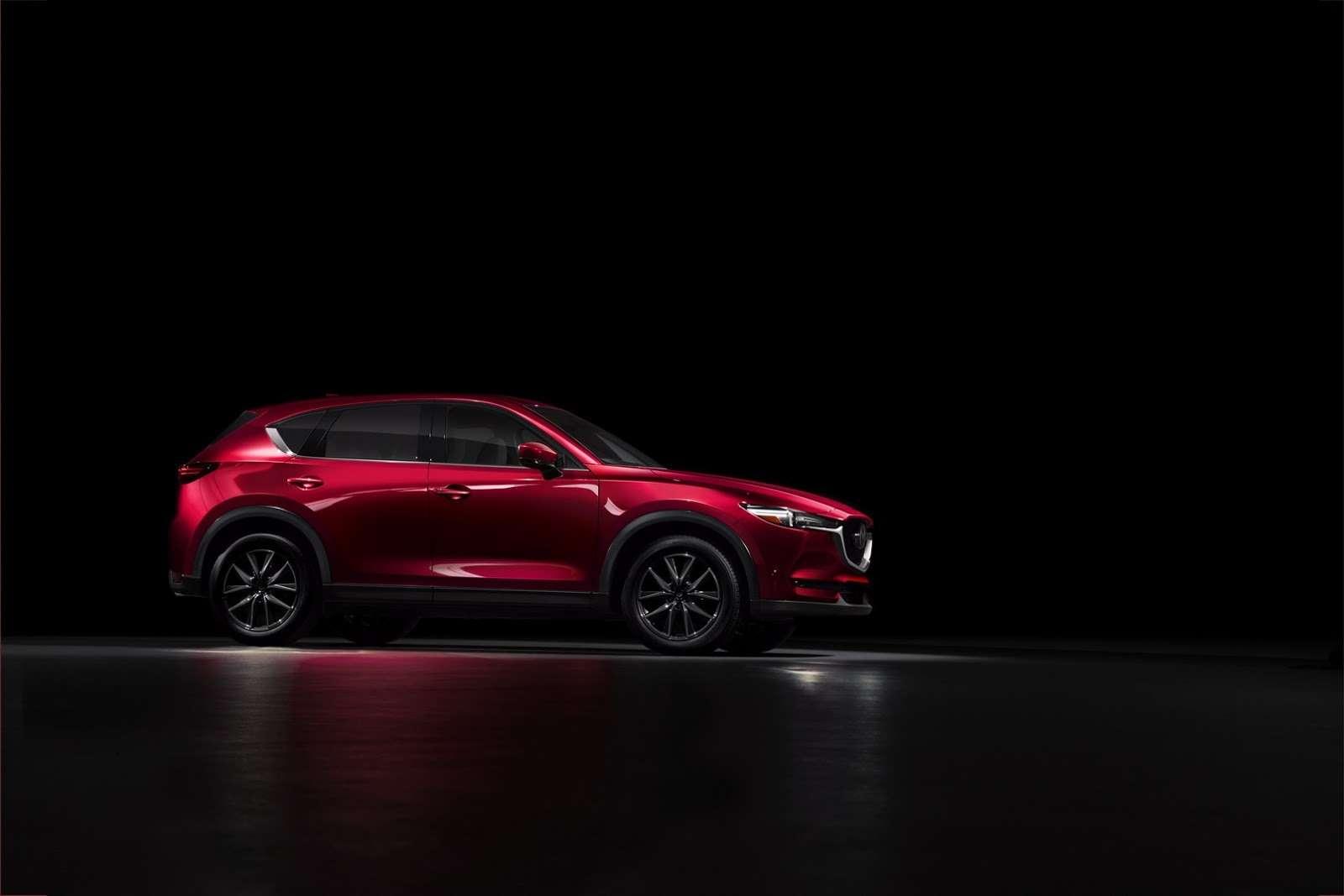 Глубокий блеск: Mazda представила новый кроссовер CX-5— фото 664422