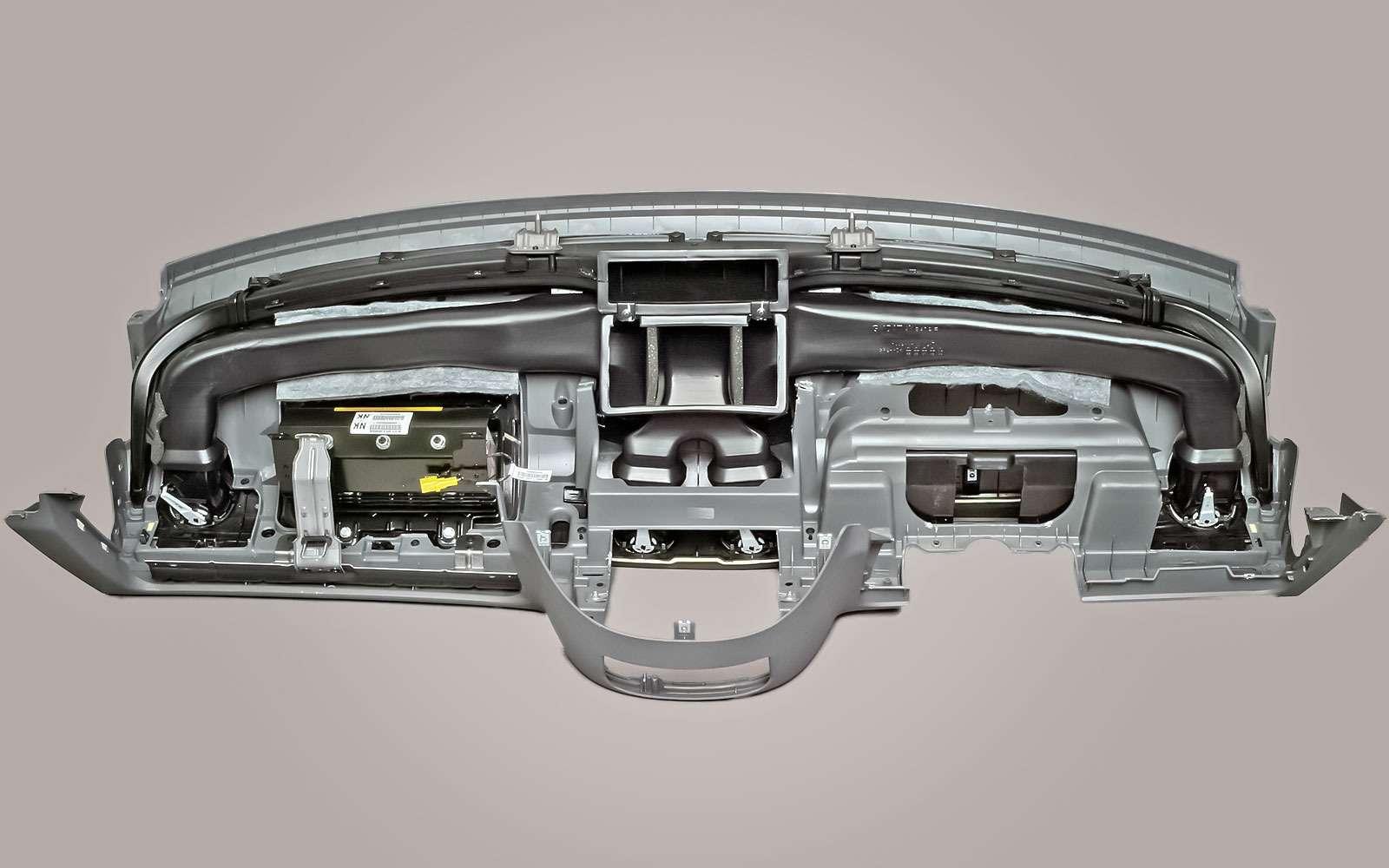Передняя панель Chevrolet Lacetti