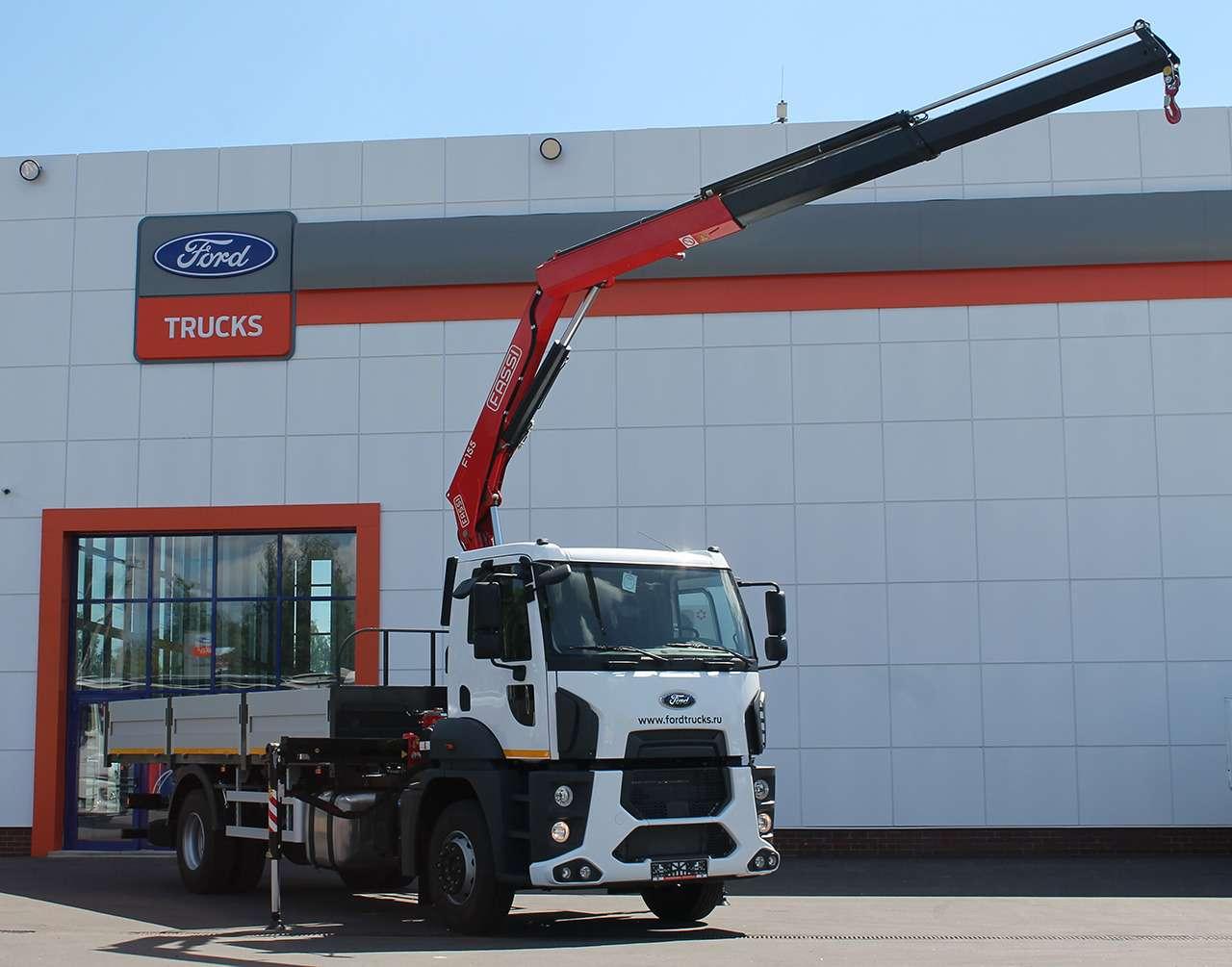 Новый 18-тонный грузовик Ford российской сборки— фото 1226829