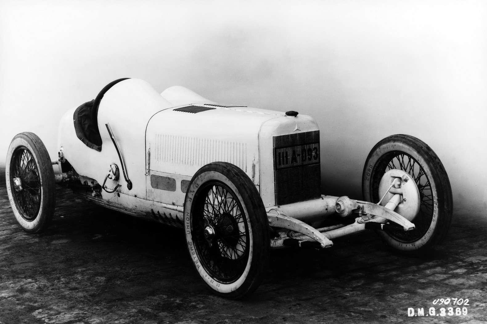 Гоночный Mercedes Typ Monza 1924 года.