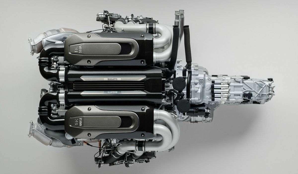 Двигатель Bugatti Chiron оценили в9365 долларов. Неработающий ималенький— фото 807236