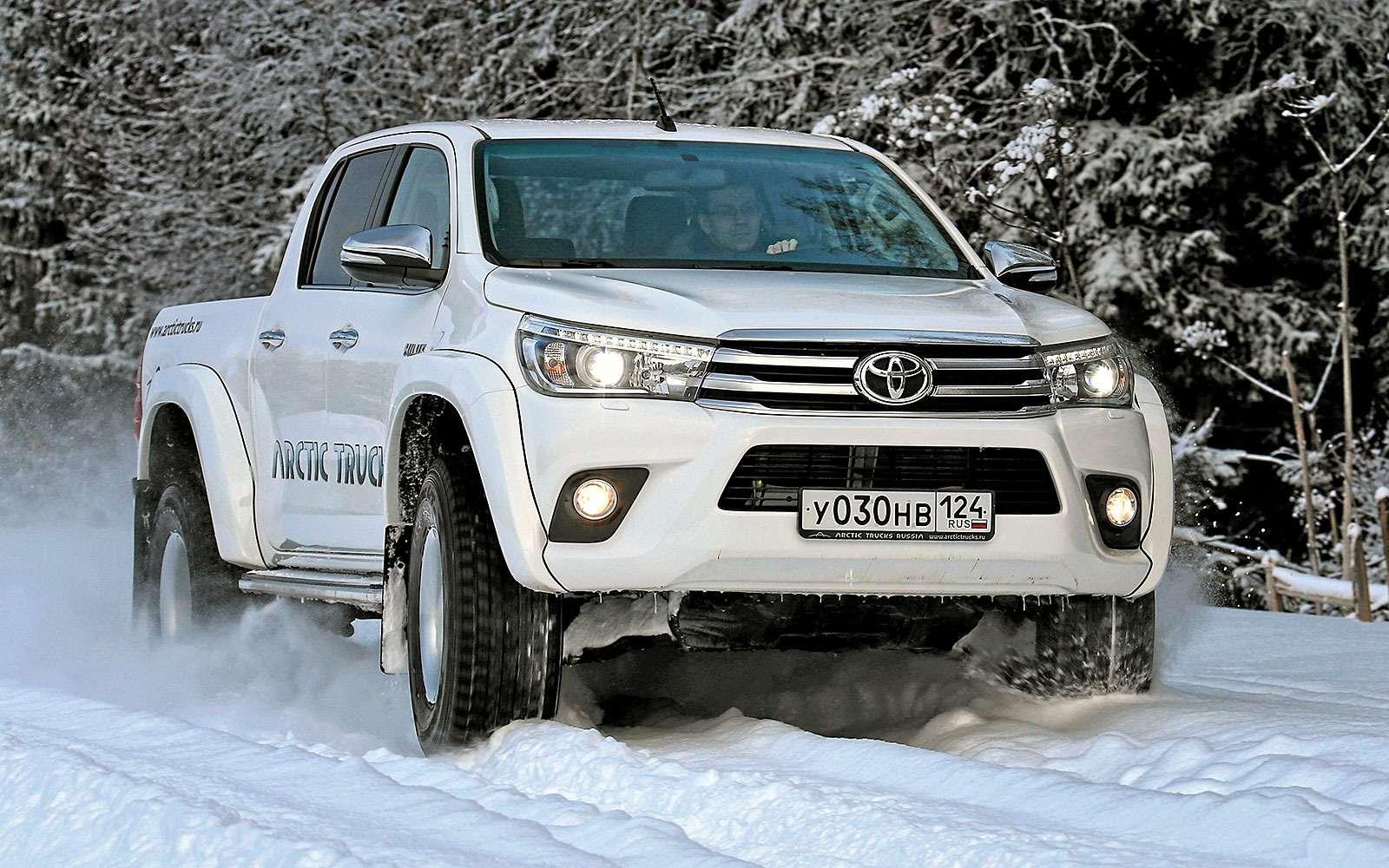 Toyota Hilux Arctic Trucks AT356X6