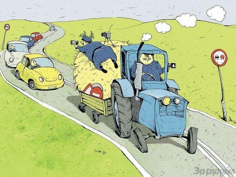 Смешное о водителях в картинках