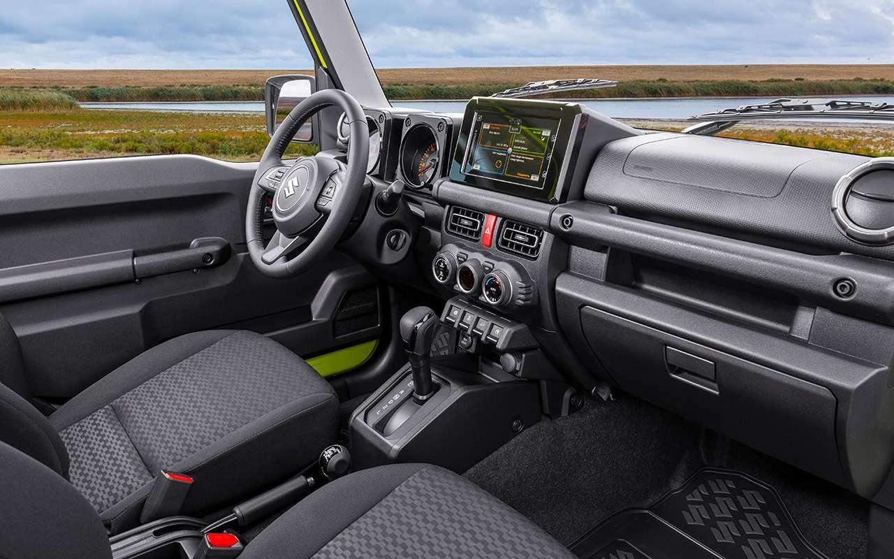 Новый Suzuki Jimny: все его изменения— фото 1007952