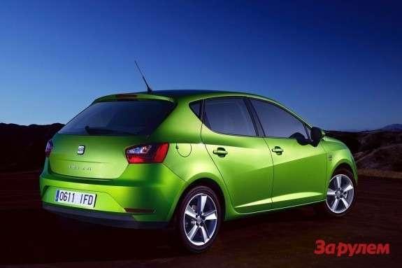 SEAT Ibiza side-rear view