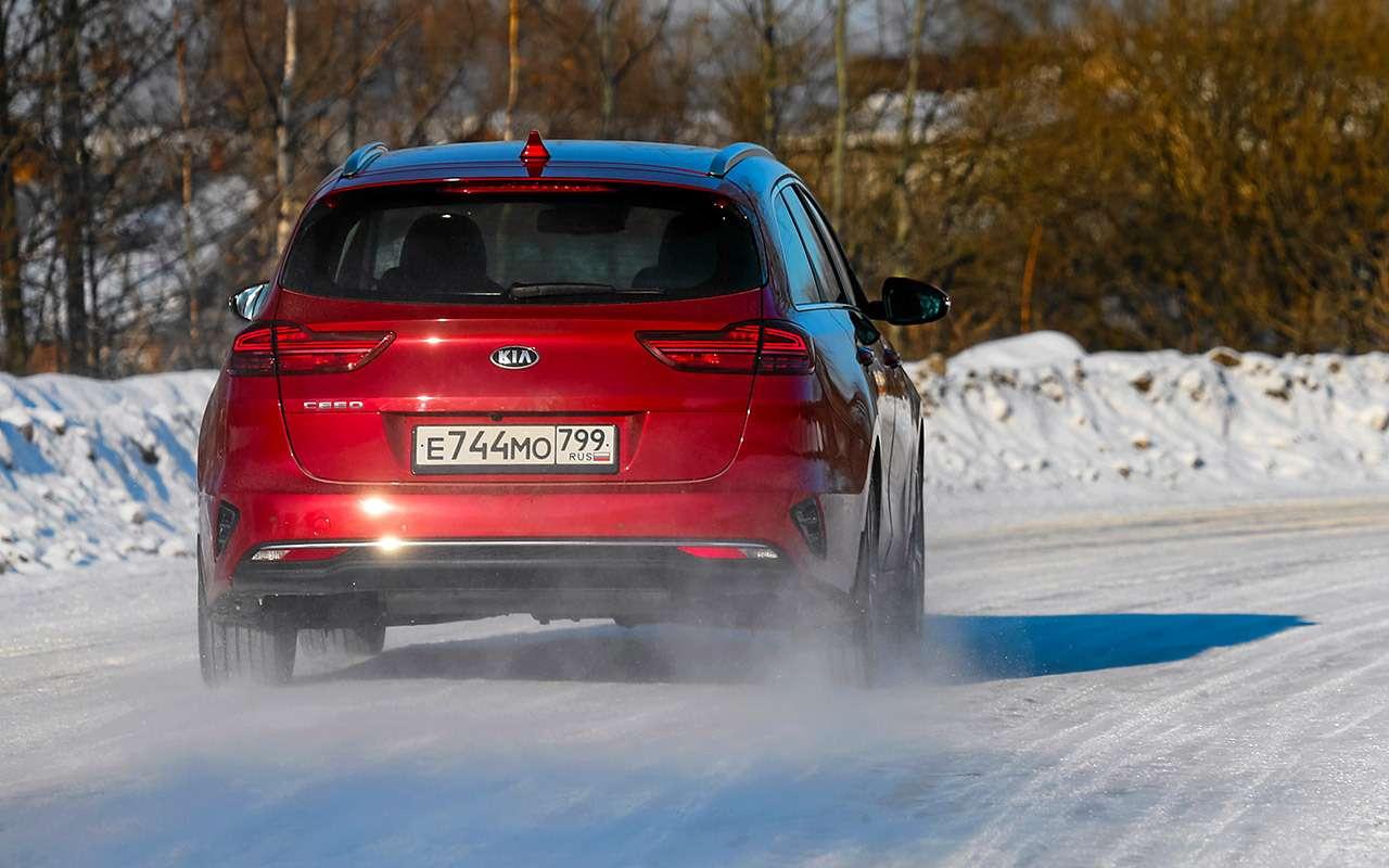Большой тест универсалов: Ford против Kia— фото 959174