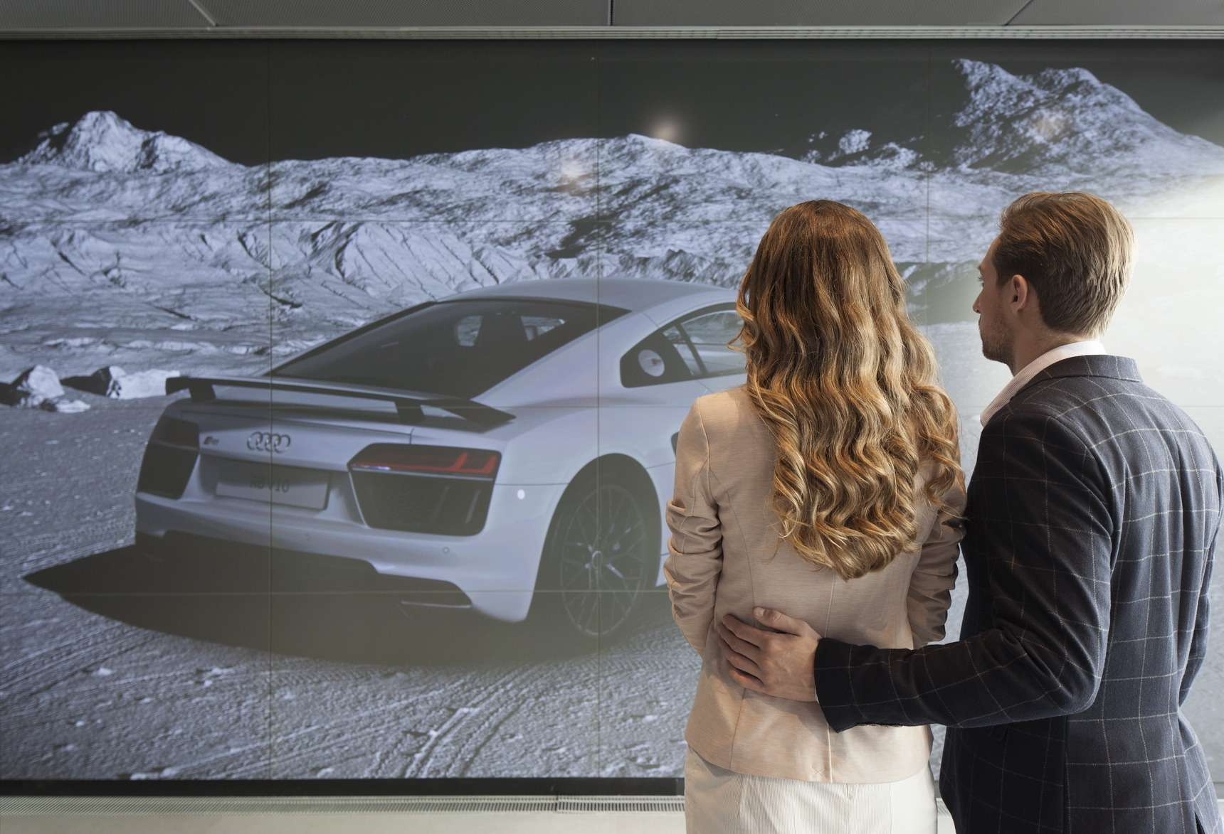 В Москве построили город Audi— фото 603947