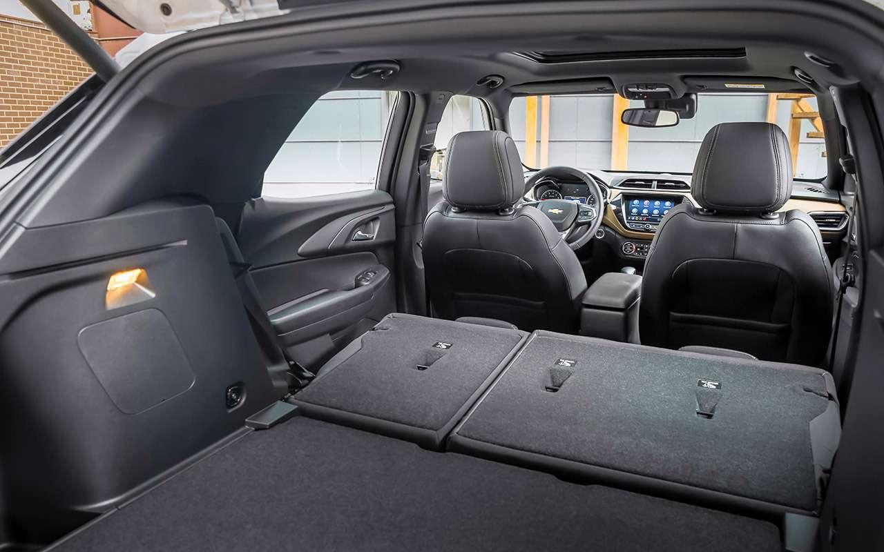 Новый Chevrolet Trailblazer: модный размер икрутой автомат— фото 1282547
