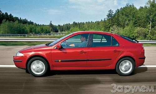 Тест Nissan Primera, Renault Laguna. Пробы нафотогеничность.— фото 29402