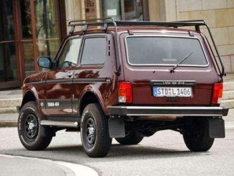 Lada 4X4 стала призером самого