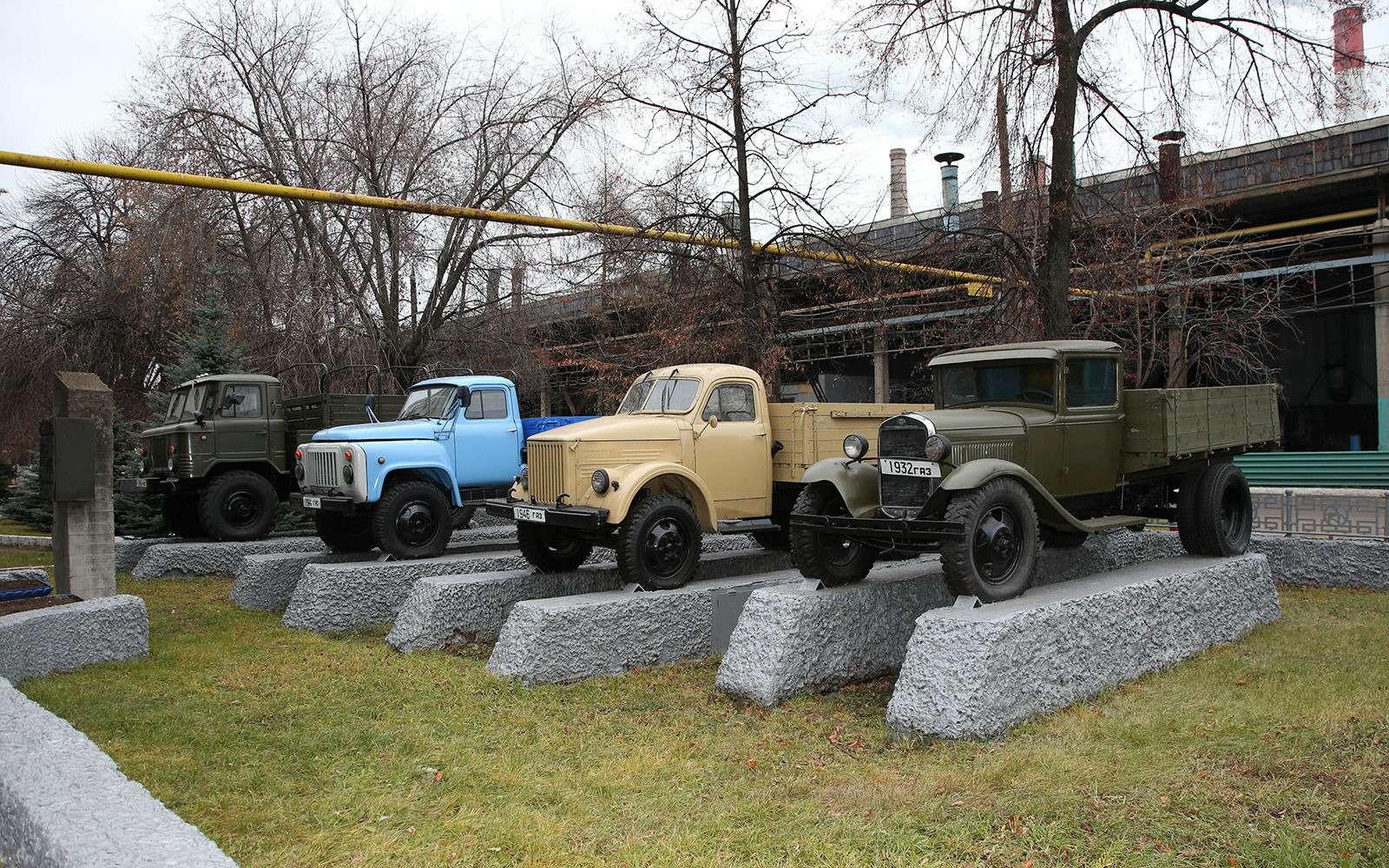 18главных (втом числе ибудущих) моделей ГАЗа— репортаж ЗР— фото 815321