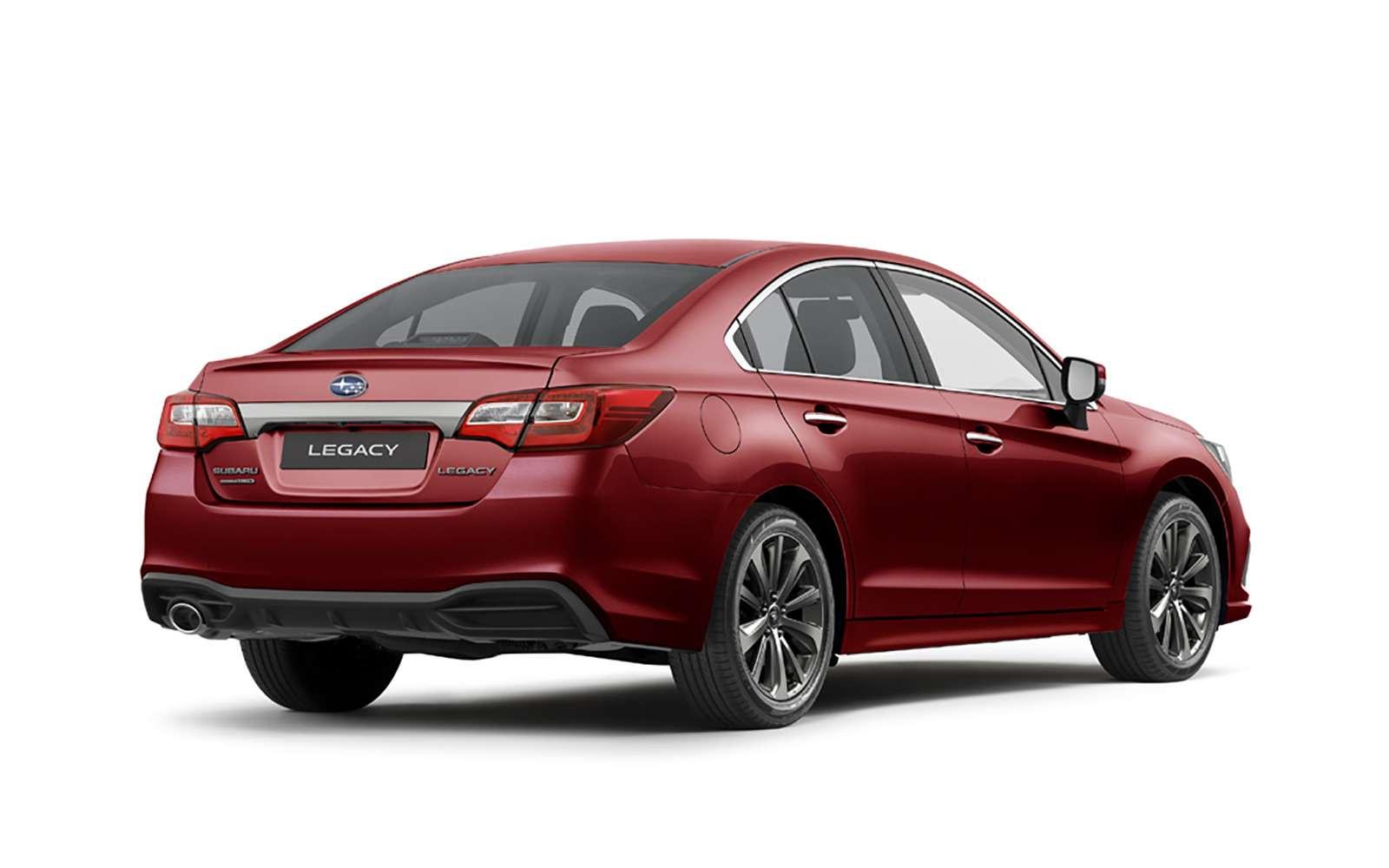 Возвращение Subaru Legacy вРоссию: первые подробности— фото 849369