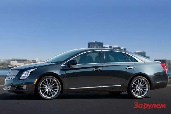 Cadillac XTS side view