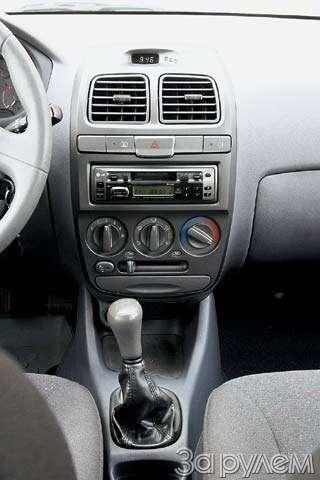 Тест-драйв Hyundai Accent, Chery Amulet. Восточные единоборцы— фото 65114