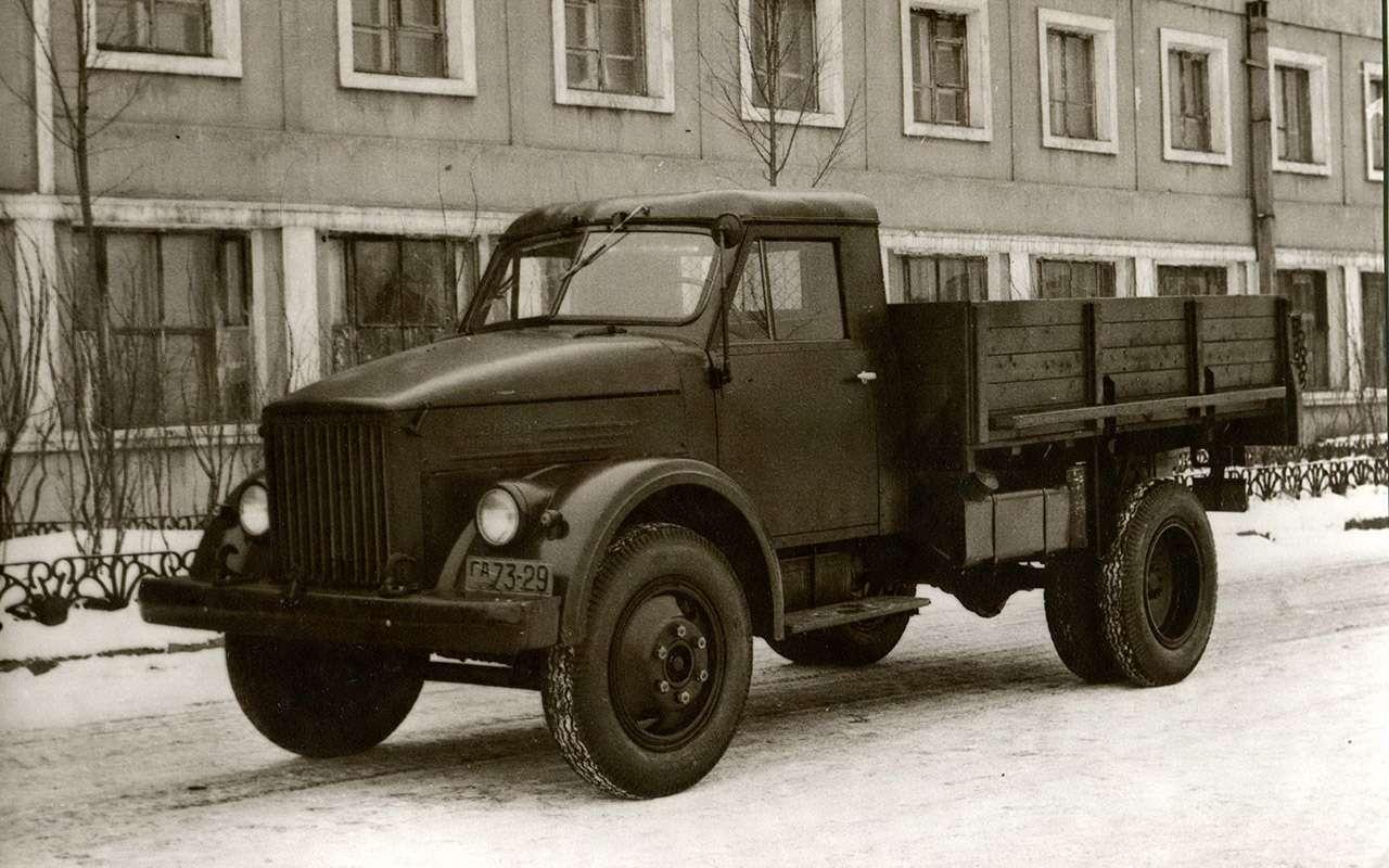 Мотор V12с автоматом— были итакие грузовики вСССР!— фото 1033949