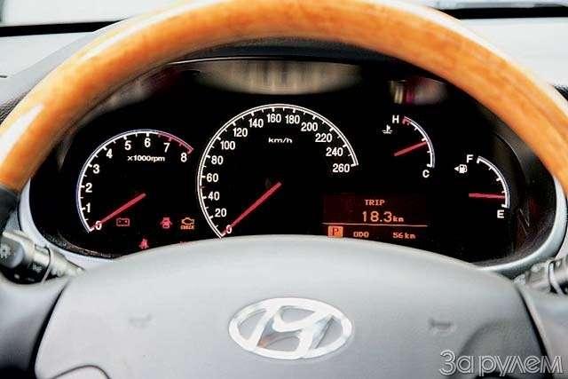 Hyundai Grandeur: Высоко сижу— фото 65848