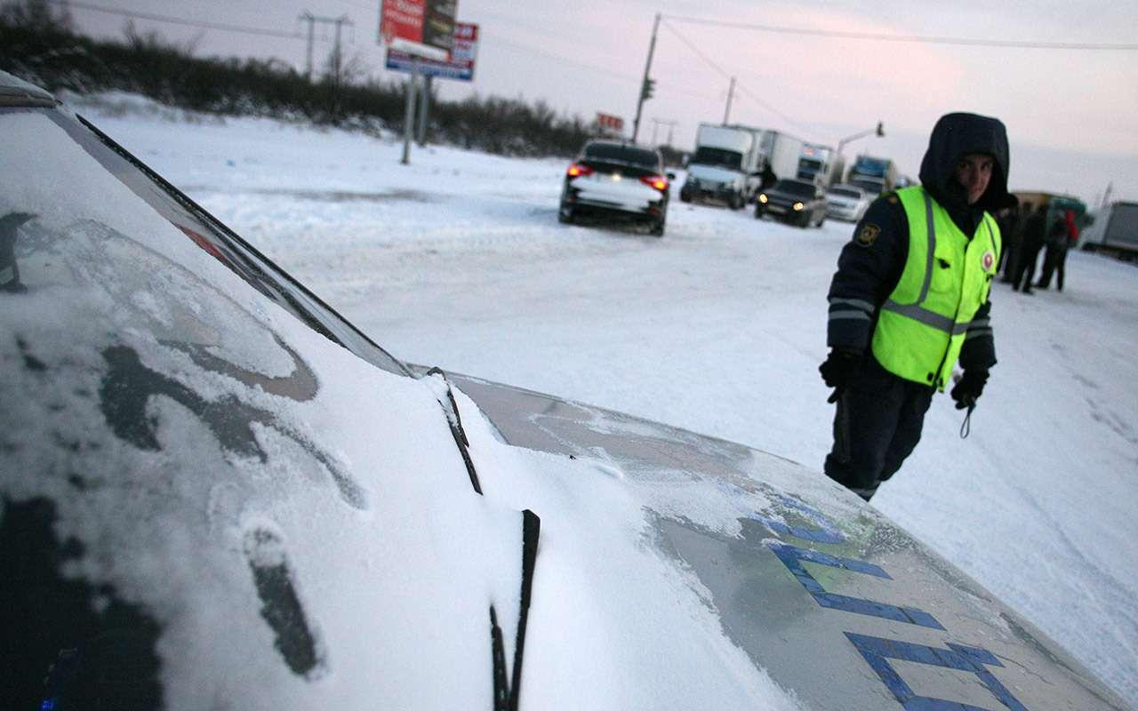 Снежные ловушки: как оспорить штраф заневидимые знаки иразметку— фото 931060