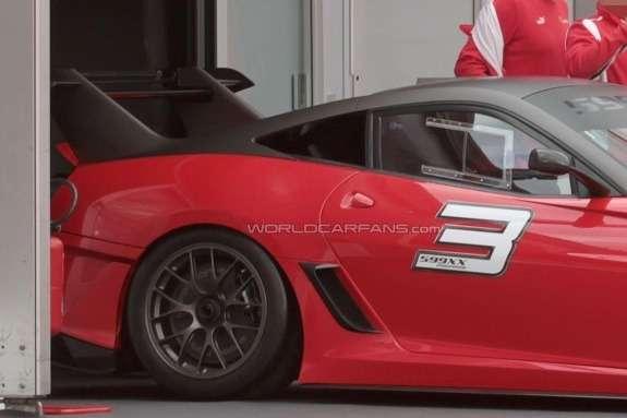 Ferrari 599XX EVO rear