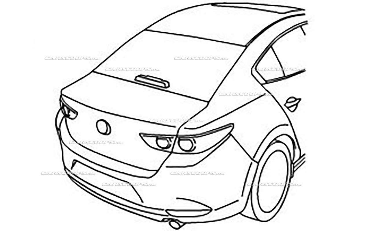 Новая Mazda 3: первые изображения серийной версии— фото 914297