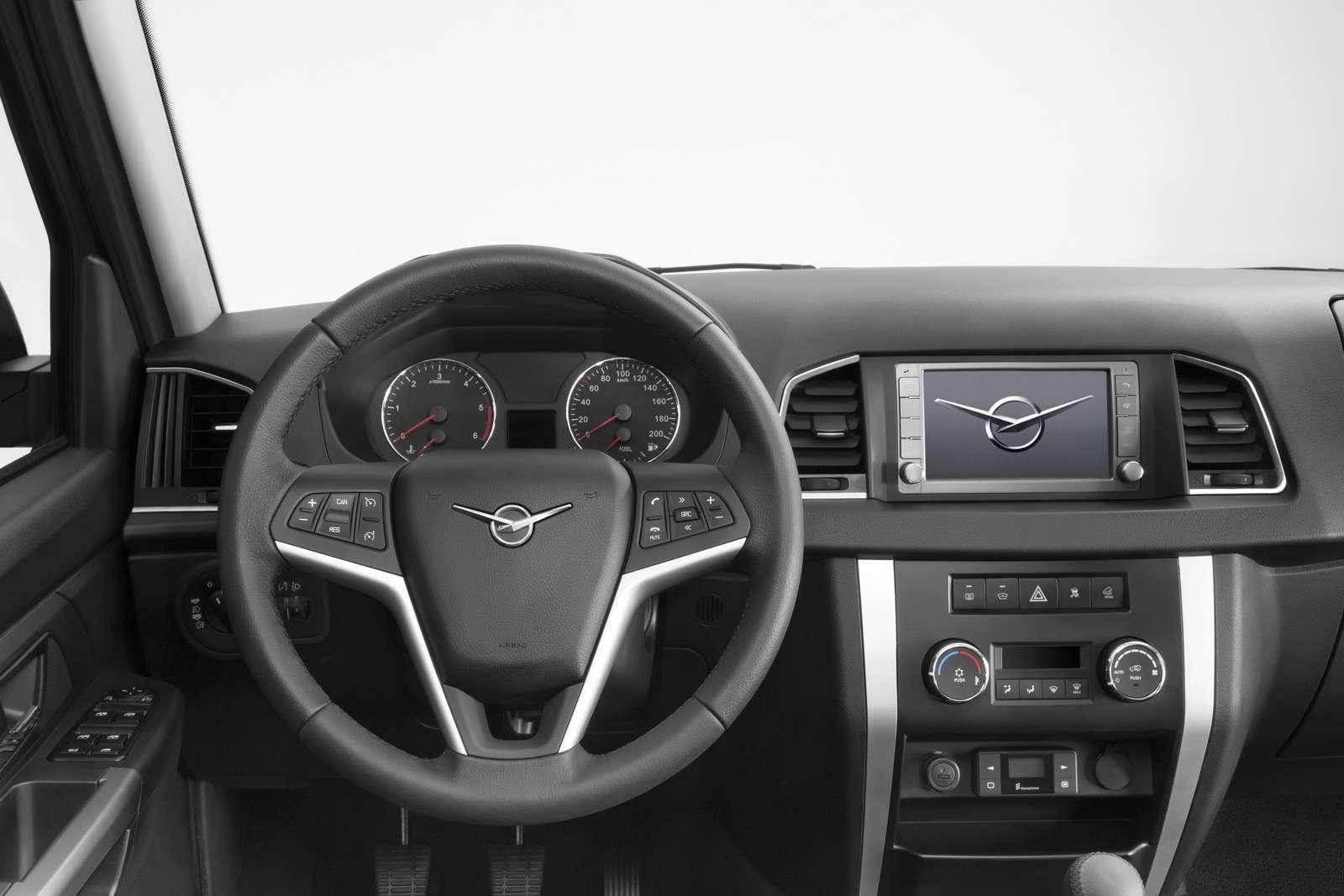 Обновленный УАЗ Патриот нацелился наэкспорт— фото 648329