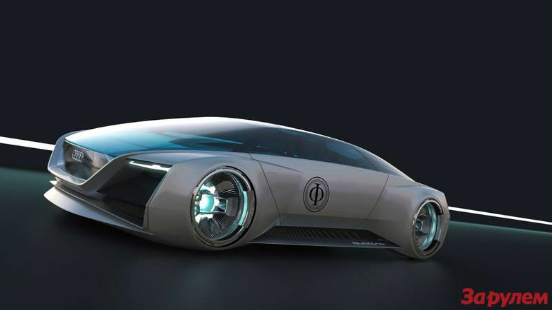 Virtuelle Vision: Audi fleet shuttle quattro fuer den Film ?Ender?s Game?