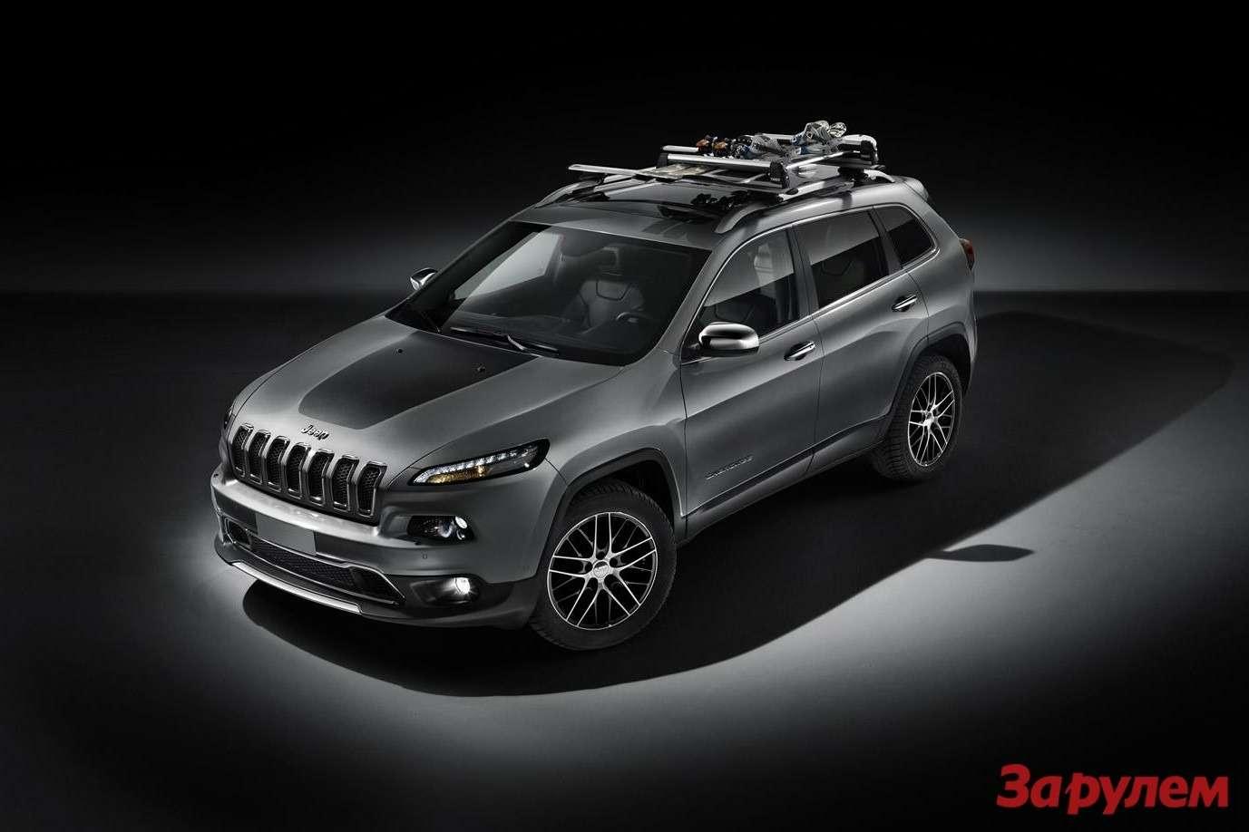 Европейский Jeep Cherokee