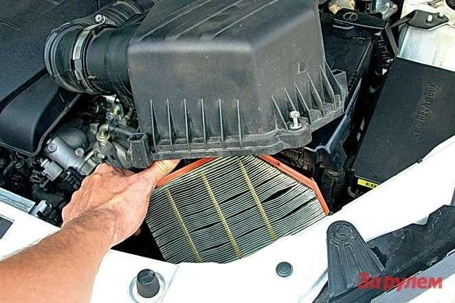 Достаточно было почистить воздушный фильтр, иавтомобиль сразу перестал тупить.