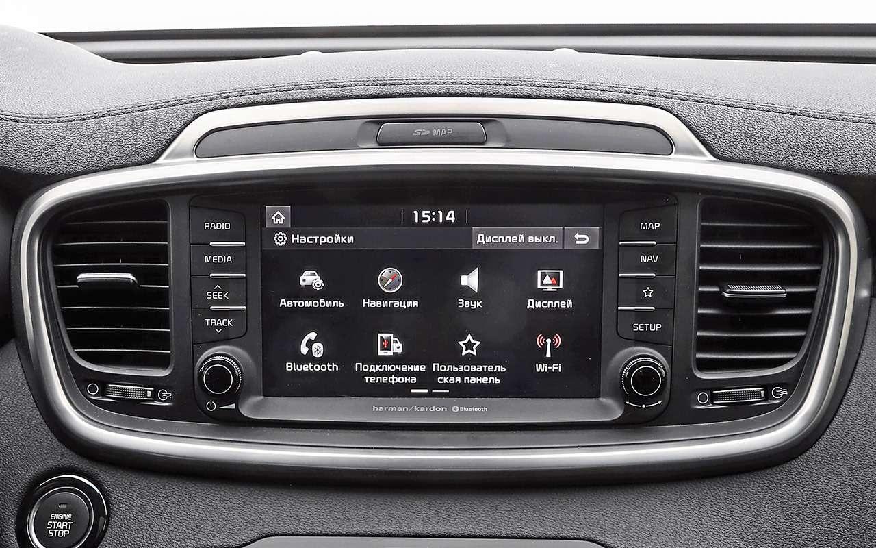 Hyundai Santa Feпротив конкурентов: большой тест кроссоверов— фото 931471