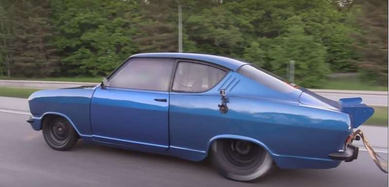 Унесенный турбиной: Opel Kadett, который смог