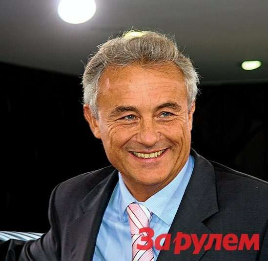 Венсан Бессон, заместитель генерального директора «Ситроен» помоделям ирынкам.