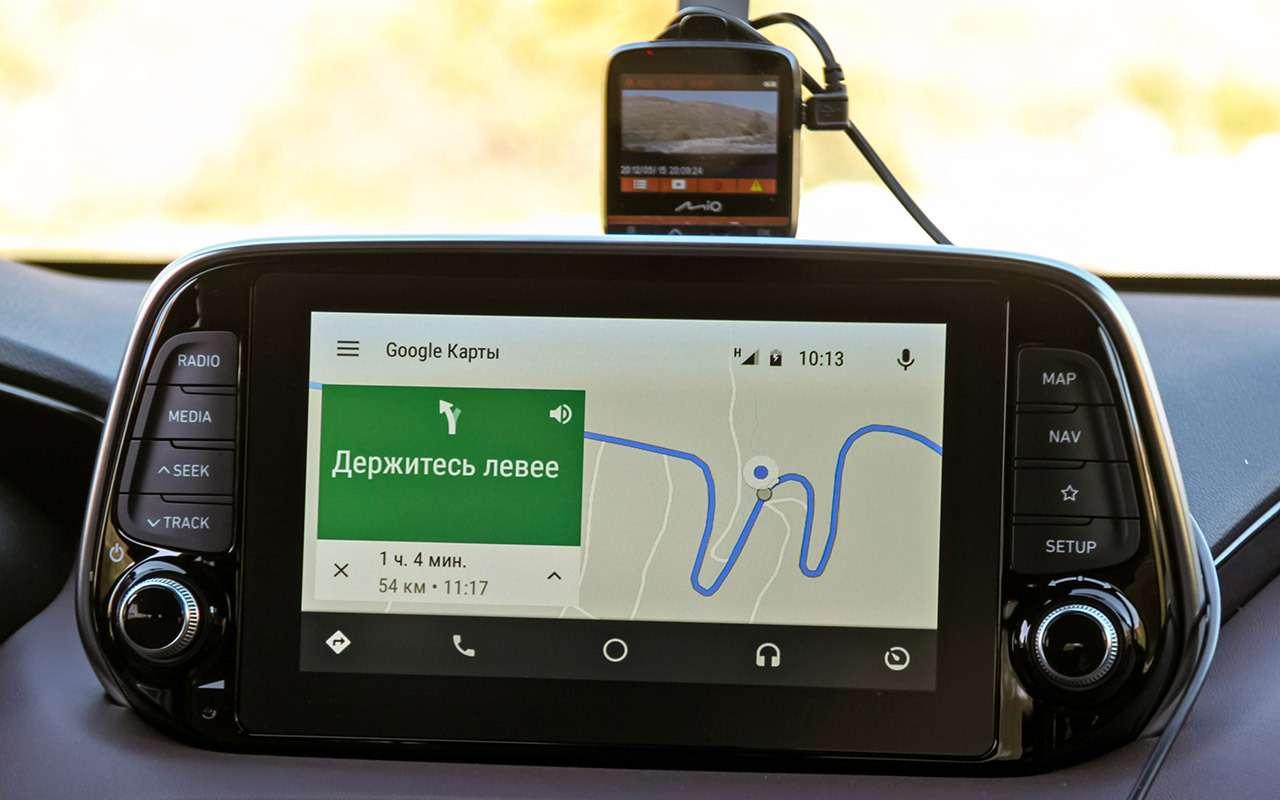 Тест нового Hyundai Santa Feскрутым автопилотом— фото 920455