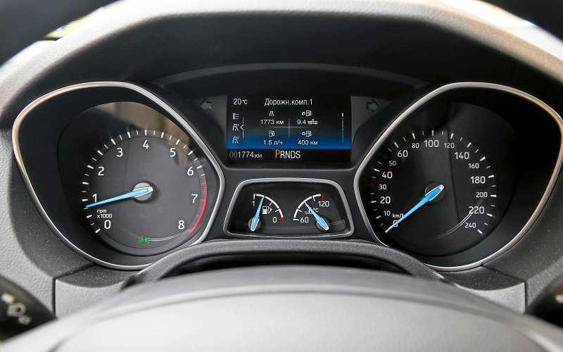 Приборы Ford Focus