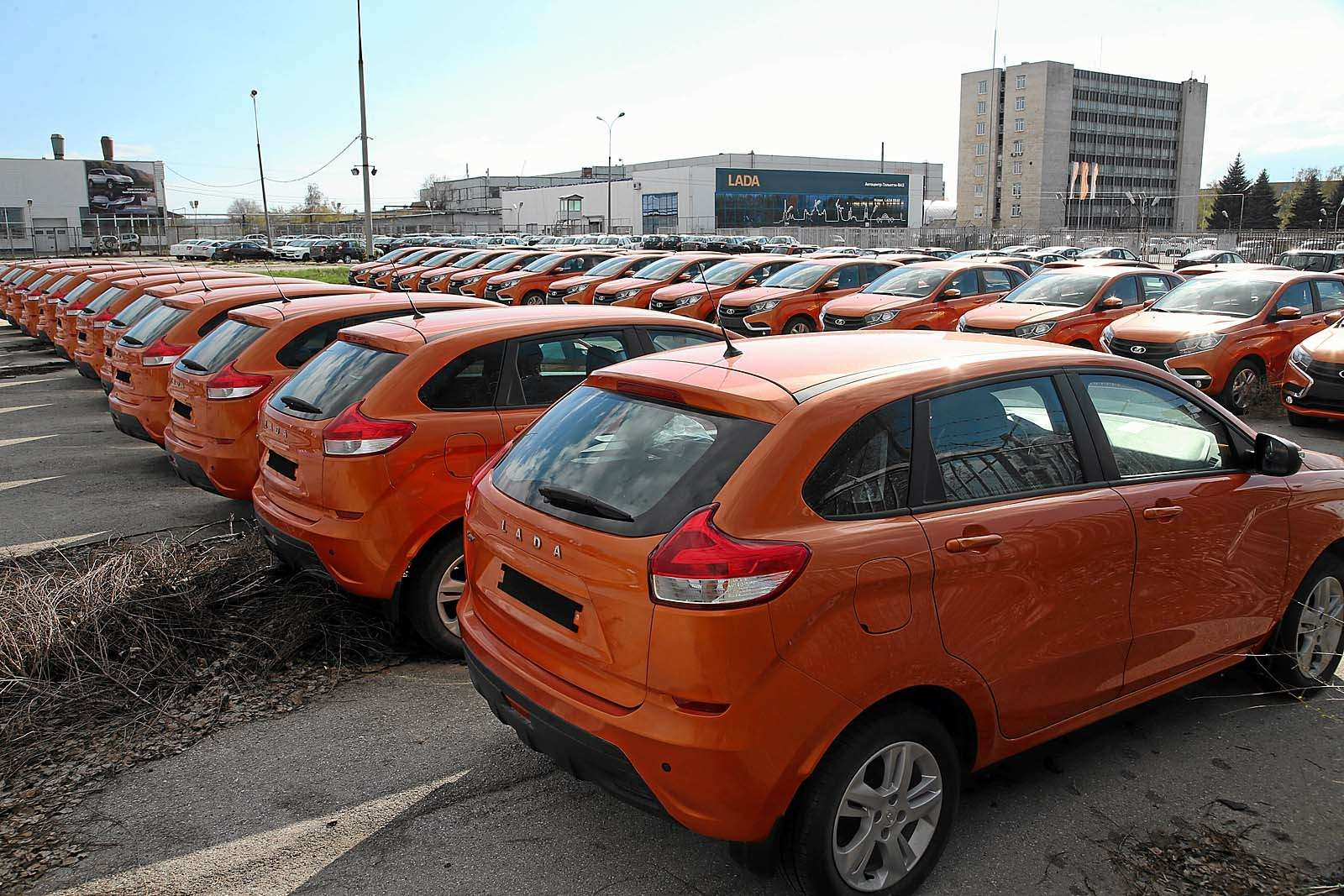 Новые автомобили Автоваза