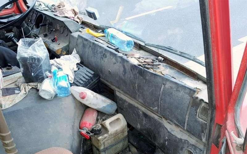 Ачто, так можно было?— нагрузовике без тахометра, спидометра истраховки!