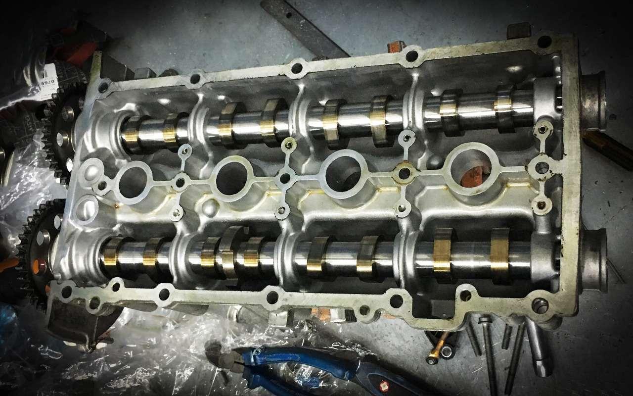 Всепроблемы двигателя Volkswagen 1.6— экспертиза «Зарулем»— фото 981078