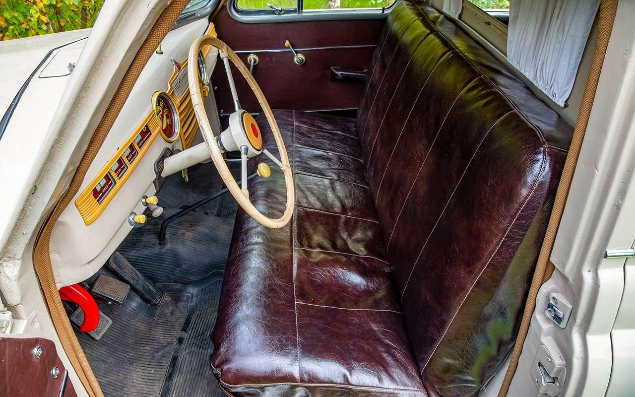 Уникальная Победа ГАЗ-М20: ретротест машины cкорой помощи— фото 1085323