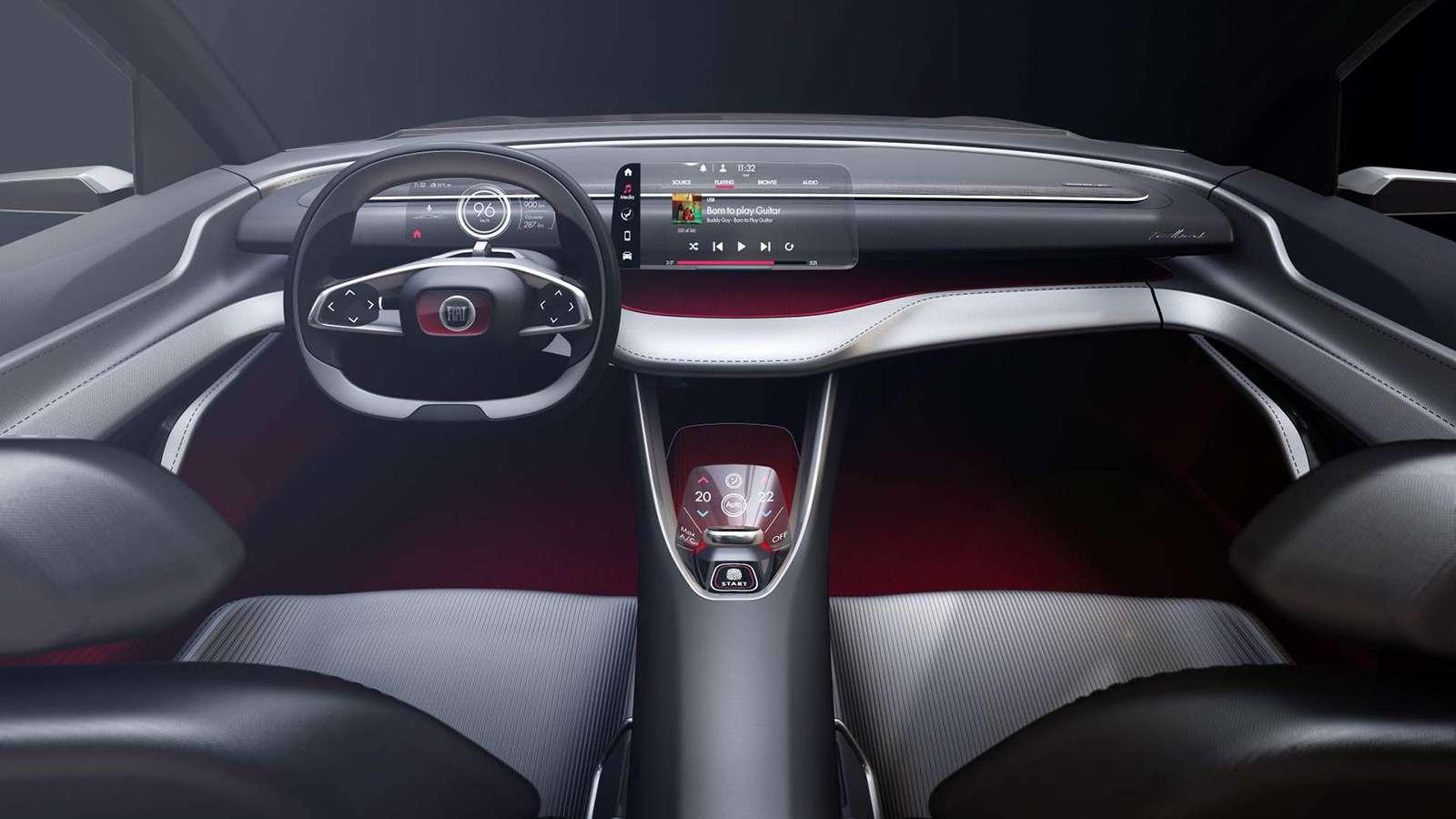 Fiat показал купе-кроссовер. Это будущий конкурент Renault Arkana!— фото 920724