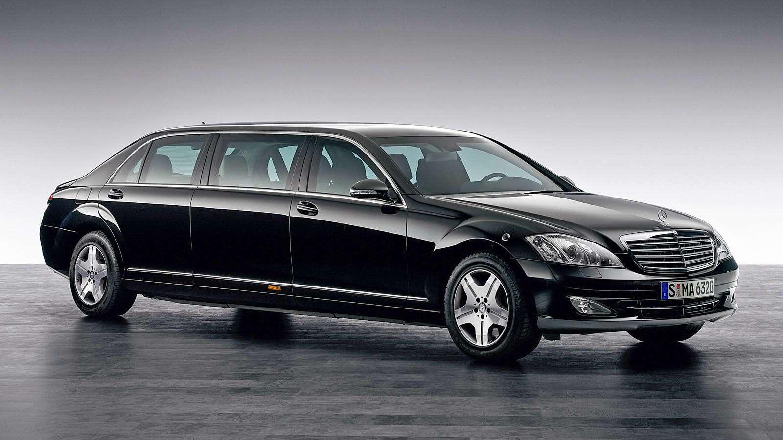 Броневик Mercedes-Benz S600 Pullman Guard