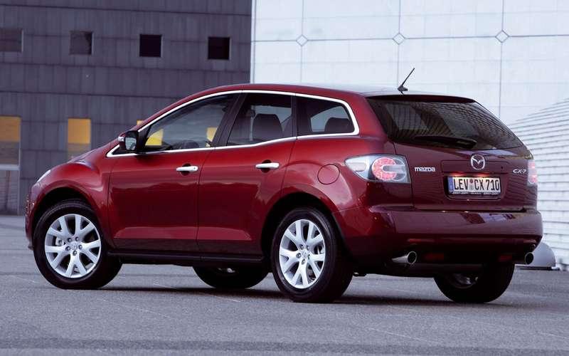 Mazda отзывает вРоссии более 60тысяч автомобилей