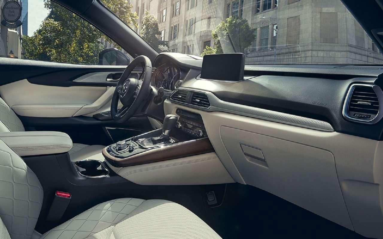 Обновленная Mazda CX-9: известна цена топ-версии— фото 1223448