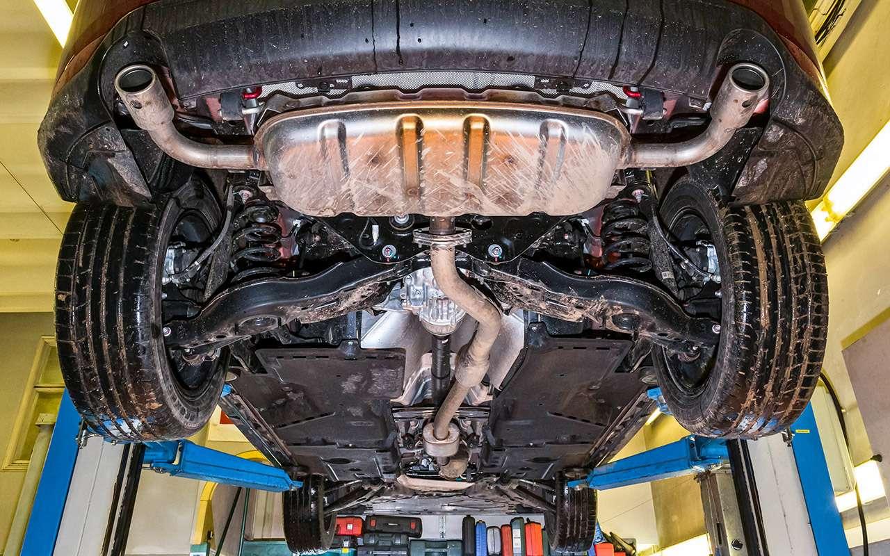 Чейполный привод круче— Ford Kuga или Mazda CX-5?— фото 825754